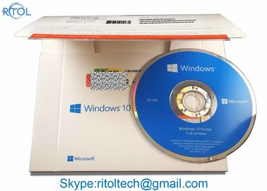 Windows 10 Home Pack USB 32/64 บิต, OEM Win 10 Pro / Home Windows 10 Coa Key